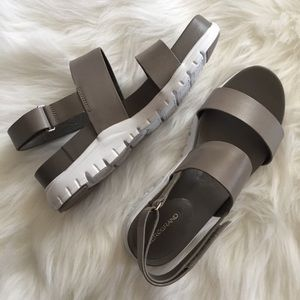 cole haan | zerogrand leather slide sandal